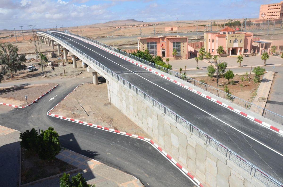 Construction des ouvrages de franchissement entre sidi abdellah et nzalat laadam